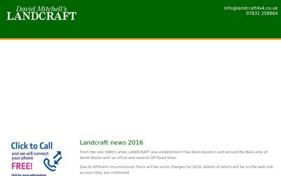 Landcraft4x4.co.uk website