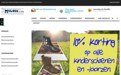Van Maurik Schoenen website