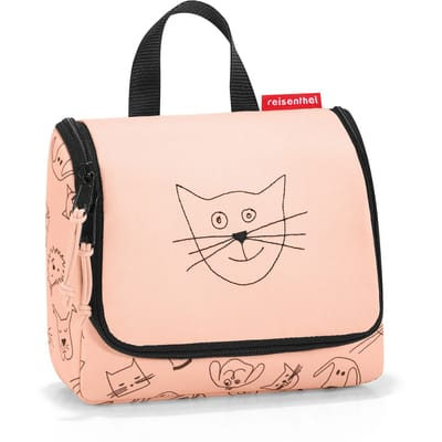 Reisenthel Toiletbag S Kids L Rose cats dogs