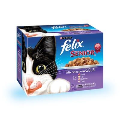 FELIX Senior 12 x 100 gr