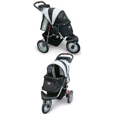 Innopet Buggy Comfort Efa - Zwart Zilver Grijs