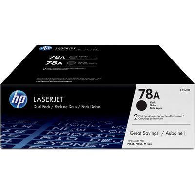 HP 78A LaserJet toner zwart Pack