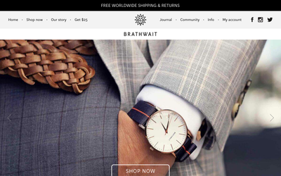 Brathwait website
