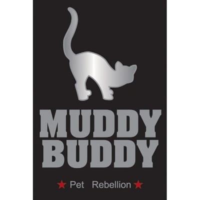 Pet rebellion schoonloopmat kattenluik
