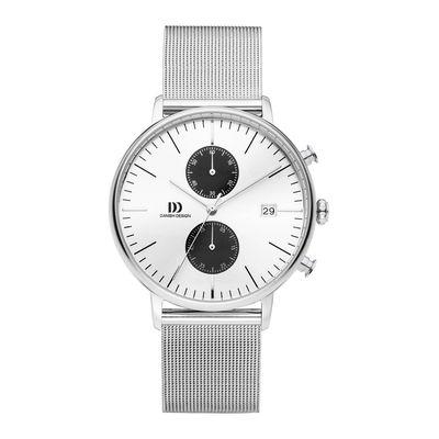 Danish Design IQ74Q975 horloge heren zilver edelstaal