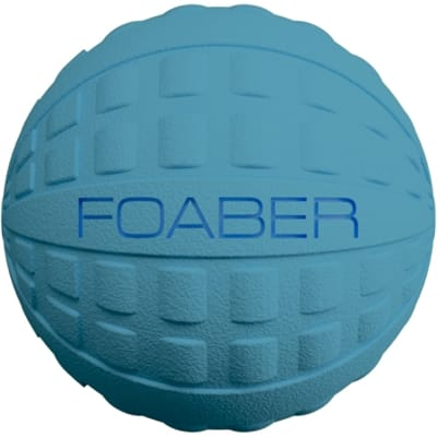 Foaber bounce bal foam / rubber blauw