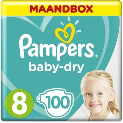 Pampers Luiers Maat 8 100 Baby Dry