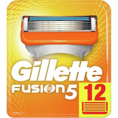 Gillette 12 Stuks Scheermesjes Fusion 5