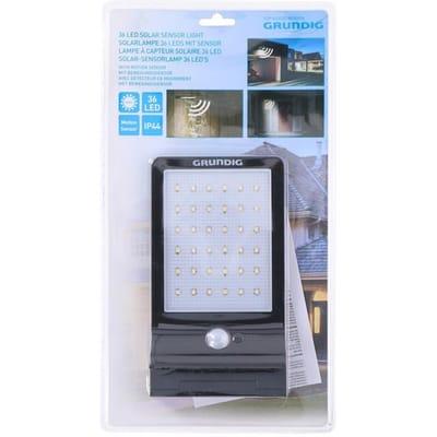 Grundig Solar Wandlamp - Buitenlamp met Sensor