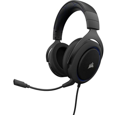 Corsair HS50 Gaming Headset Blauw