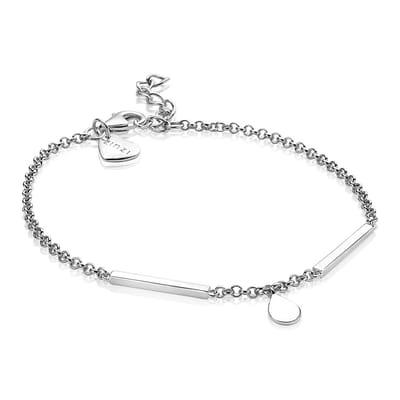 Zinzi Armband zilver Staafjes cm ZIA1678