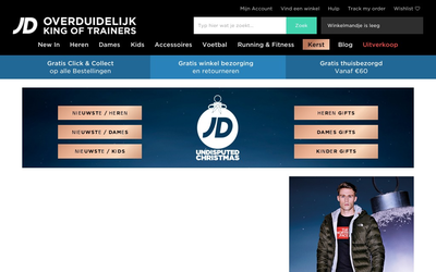 JD Sports website