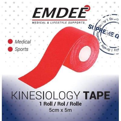 EMDEE Kinesio tape rood non-cut