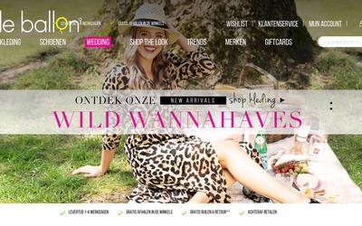 Le Ballon website