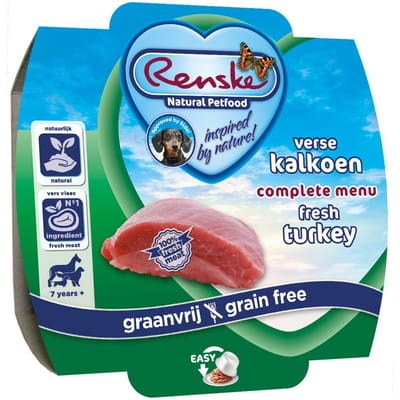Renske Vers Vlees Kalkoen 100 gr