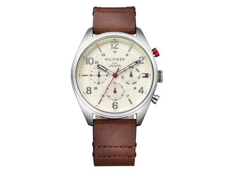 Tommy Hilfiger TH1791208 horloge heren bruin