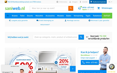 Saniweb website