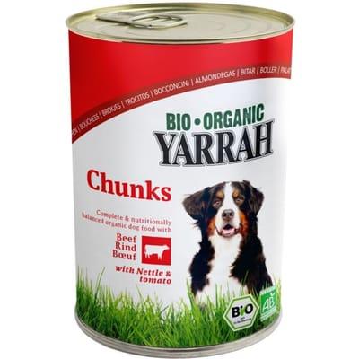 Yarrah brokjes in saus en tomaat hondenvoer 405 gr