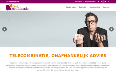 Telecombinatie Amersfoort website