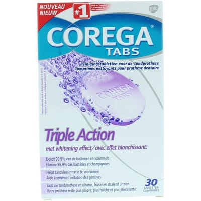 Corega Triple Action