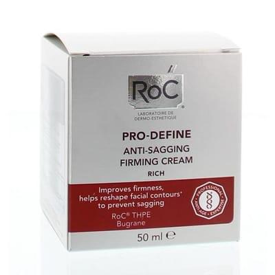 Pro define rich anti sagging firming cream