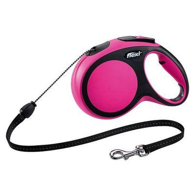 Flexi New Comfort Hondenriem Roze S 8 M