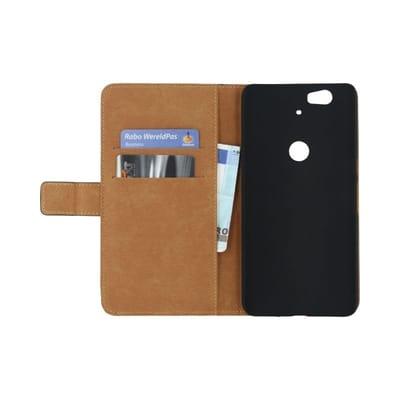 Mobilize Classic Wallet Book Case Nexus 6P Black