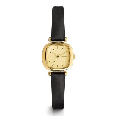 Komono Moneypenny horloge Gold Black