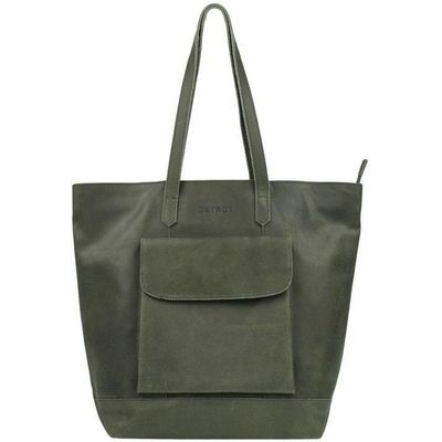 DSTRCT Riverside Shopper XL green