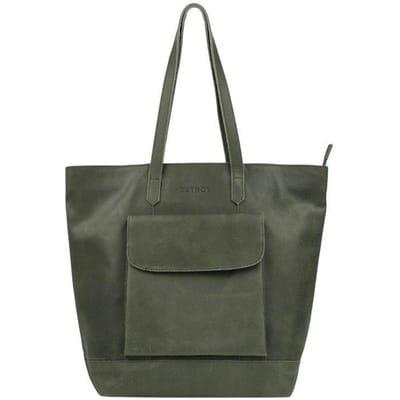 DSTRCT Riverside Shopper XL green
