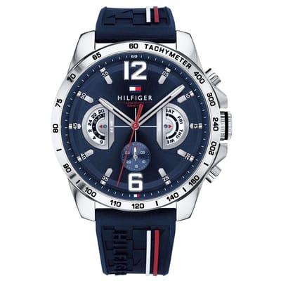Tommy Hilfiger Horloge Blauw mm 1791476
