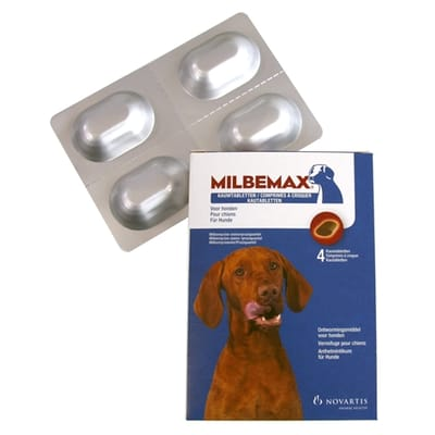 Milbemax kauwtablet ontworming hond