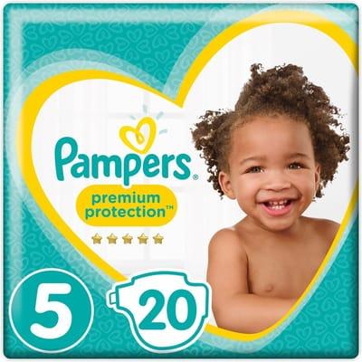 Pampers Premium Protection Maat 5 kg 20 Luiers Junior