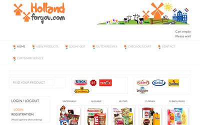 Hollandforyou.com website