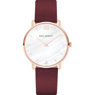 Paul Hewitt Miss Ocean Horloge Rood 33 mm