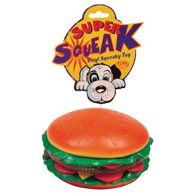 Petbrands super squeak  hamburger
