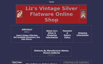 Liz's Vintage Silver Flatware Online Shop