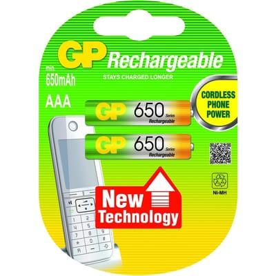 AAA 650 Batterij