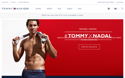 Tommy Hilfiger Nederland website