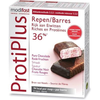 Modifast ProtiPlus 6 Reep Rode Vrucht