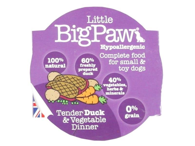 Little big paw dinner 85 gr