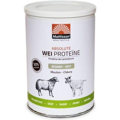 Absolute wei proteine schaap geit