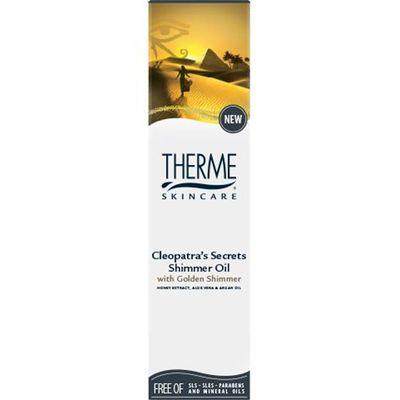 Shimmer oil Cleopatra's secret
