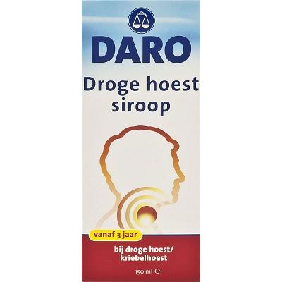 Daro Siroop - Droge Hoest 150 ml