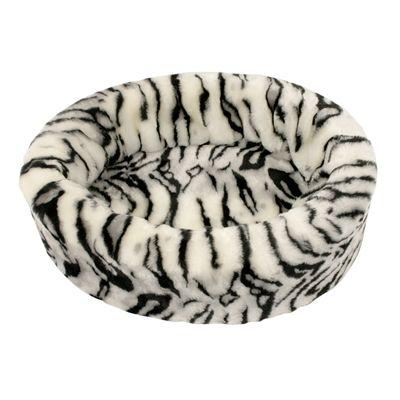 Petcomfort hondenmand bont tijger wit