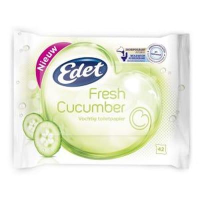 Edet Vochtig Toiletpapier Fresh Cucumber
