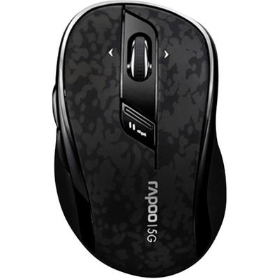 Rapoo 7100P Draadloze Muis Zwart