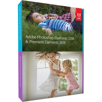 Adobe Photoshop Elements Premiere 2018