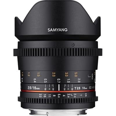 Samyang VDSLR 16mm