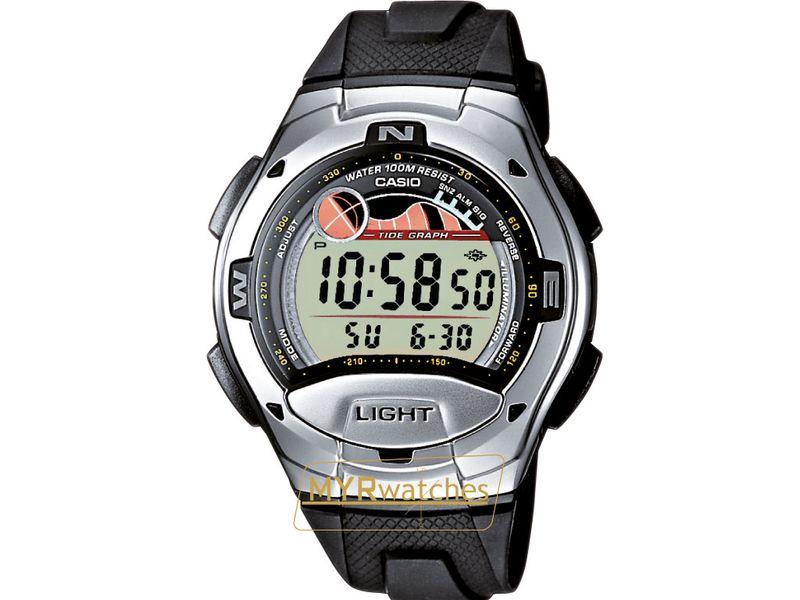 Casio Horloge mm Kunststof Zwart